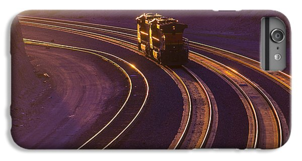 Train iPhone 6s Plus Case - Train At Sunset by Garry Gay
