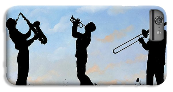 Trumpet iPhone 6s Plus Case - tre by Guido Borelli