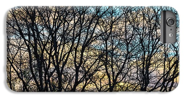 IPhone 6s Plus Case featuring the photograph Tree Branches And Colorful Clouds by James BO Insogna