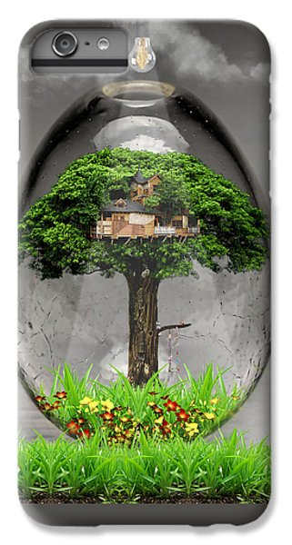 Tree House Art IPhone 6s Plus Case by Marvin Blaine
