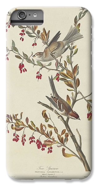 Tree Sparrow IPhone 6s Plus Case by Dreyer Wildlife Print Collections