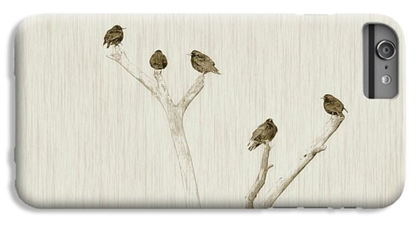 Treetop Starlings IPhone 6s Plus Case by Benanne Stiens