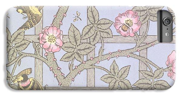 Trellis   Antique Wallpaper Design IPhone 6s Plus Case