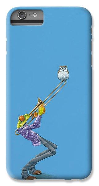 Trombone IPhone 6s Plus Case by Jasper Oostland
