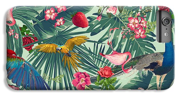 Tropical Fun Time  IPhone 6s Plus Case by Mark Ashkenazi