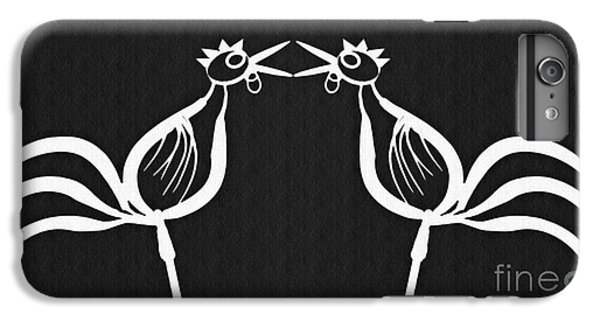 Two Crowing Roosters 2 IPhone 6s Plus Case