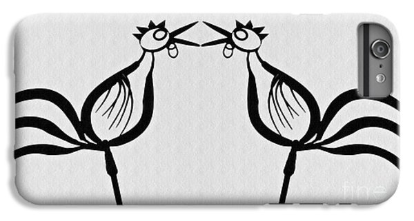 Two Crowing Roosters  IPhone 6s Plus Case