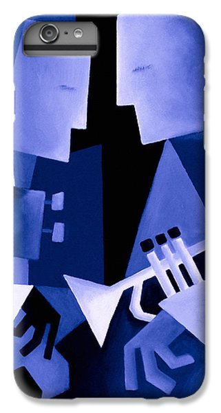 Jazz iPhone 6s Plus Case - Two For The Blues by Thomas Andersen