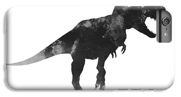Tyrannosaurus Figurine Watercolor Painting IPhone 6s Plus Case by Joanna Szmerdt