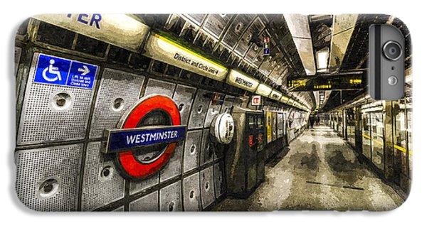 Underground London Art IPhone 6s Plus Case by David Pyatt