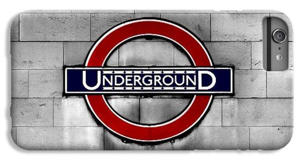 Underground IPhone 6s Plus Case by Mark Rogan