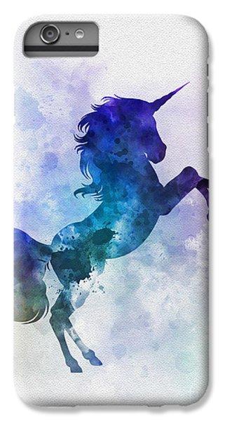 Unicorn IPhone 6s Plus Case by Rebecca Jenkins