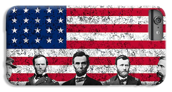 Union Heroes And The American Flag IPhone 6s Plus Case by War Is Hell Store