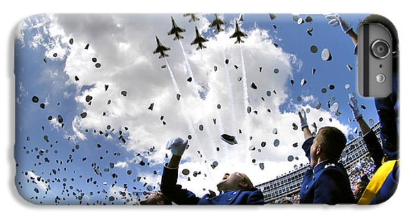 Airplane iPhone 6s Plus Case - U.s. Air Force Academy Graduates Throw by Stocktrek Images