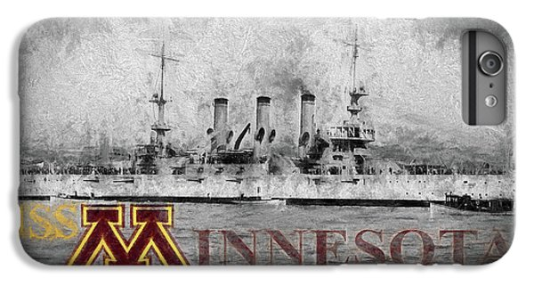 Uss Minnesota IPhone 6s Plus Case by JC Findley