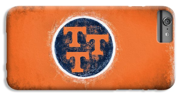 IPhone 6s Plus Case featuring the digital art Ut Tennessee Flag by JC Findley