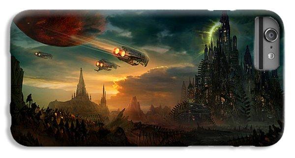 Utherworlds Sosheskaz Falls IPhone 6s Plus Case by Philip Straub