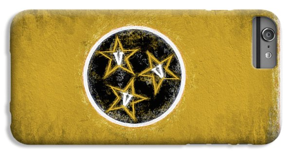 IPhone 6s Plus Case featuring the digital art Vandy Tennessee State Flag by JC Findley