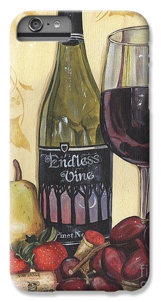 Strawberry iPhone 6s Plus Case - Veneto Pinot Noir by Debbie DeWitt