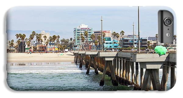 Venice Beach iPhone 6s Plus Case - Venice Beach From The Pier by Ana V Ramirez