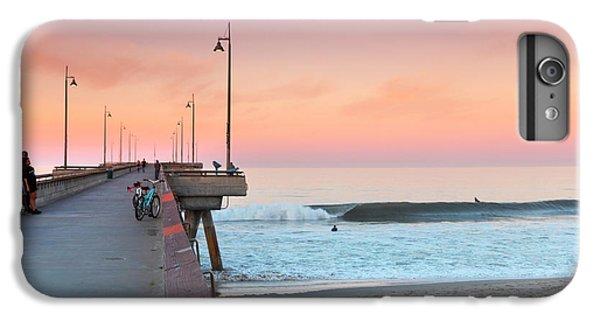 Venice Beach iPhone 6s Plus Case - Venice Dawn by Sean Davey