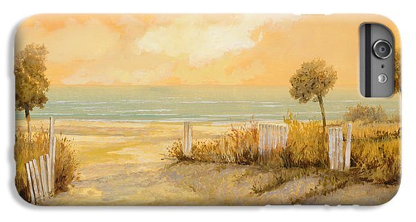 Beach iPhone 6s Plus Case - Verso La Spiaggia by Guido Borelli