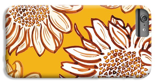 Floral iPhone 6s Plus Case - Very Vincent by Sarah Hough