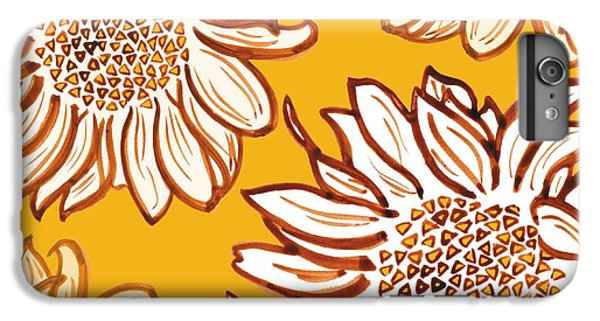 Sunflower iPhone 6s Plus Case - Very Vincent by Sarah Hough