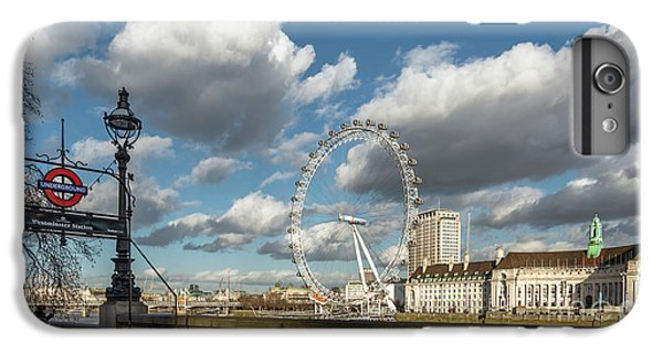Victoria Embankment IPhone 6s Plus Case by Adrian Evans