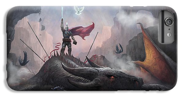 Dragon iPhone 6s Plus Case - Victory by Steve Goad