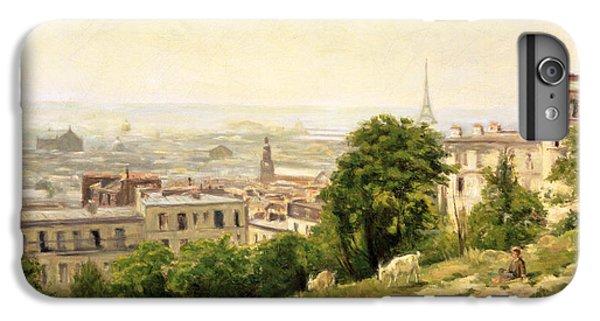 View Of Paris IPhone 6s Plus Case by Stanislas Victor Edouard Lepine