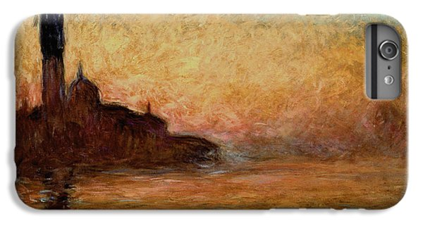 Impressionism iPhone 6s Plus Case - View Of San Giorgio Maggiore by Claude Monet