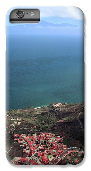 Canary iPhone 6s Plus Case - View Of Teide From La Gomera by Cambion Art