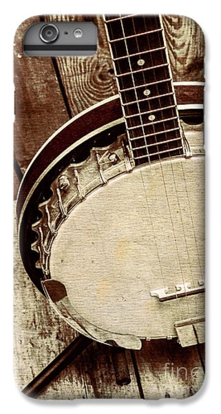 Vintage Banjo Barn Dance IPhone 6s Plus Case
