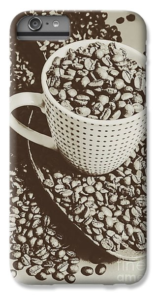Vintage Coffee Art. Stimulant IPhone 6s Plus Case by Jorgo Photography - Wall Art Gallery