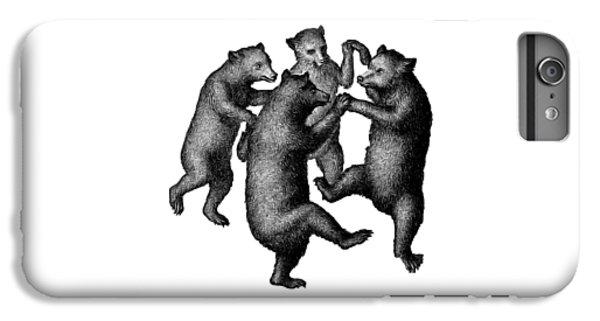 Vintage Dancing Bears IPhone 6s Plus Case by Edward Fielding