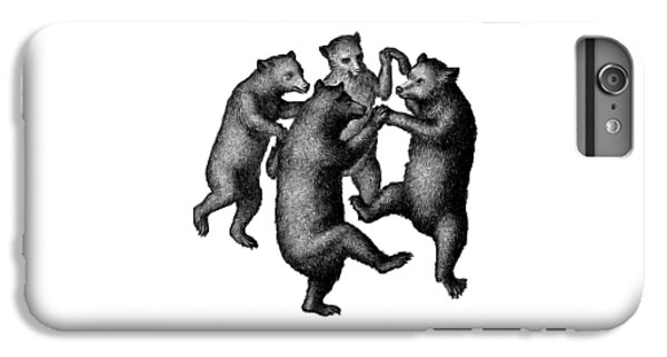 Vintage Dancing Bears IPhone 6s Plus Case by Edward Fielding