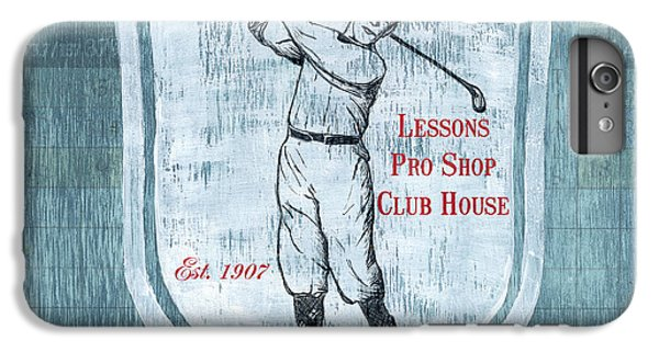 Vintage Golf Blue 1 IPhone 6s Plus Case by Debbie DeWitt