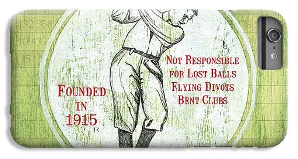 Vintage Golf Green 2 IPhone 6s Plus Case