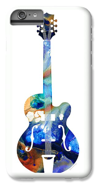 Vintage Guitar - Colorful Abstract Musical Instrument IPhone 6s Plus Case