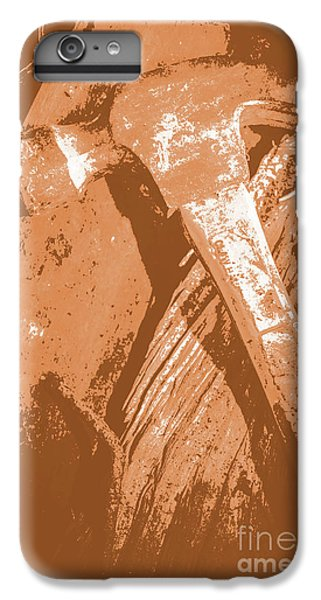 Vintage Miners Hammer Artwork IPhone 6s Plus Case