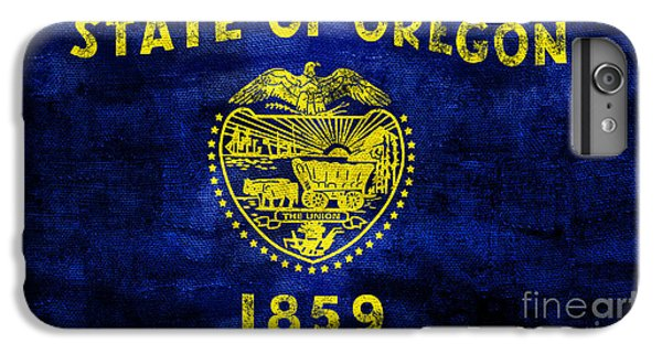 Vintage Oregon Flag IPhone 6s Plus Case by Jon Neidert