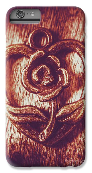 Pendant iPhone 6s Plus Case - Vintage Ornamental Rose by Jorgo Photography - Wall Art Gallery