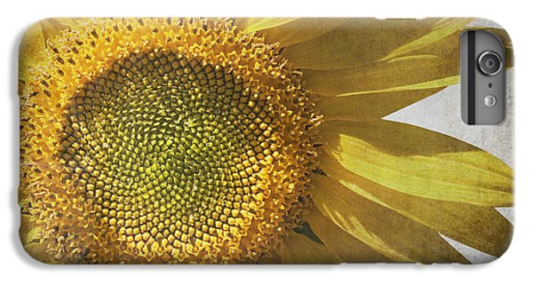 Sunflower iPhone 6s Plus Case - Vintage Sunflower by Jane Rix