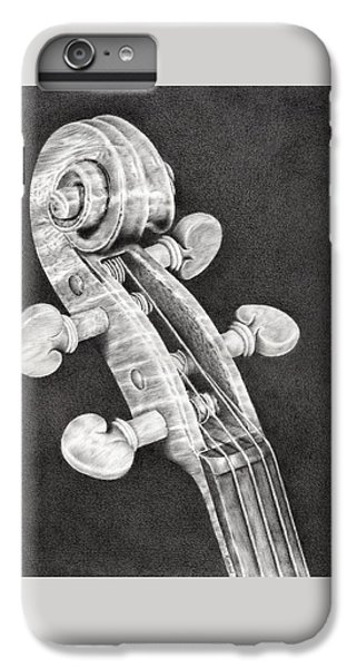 Violin Scroll IPhone 6s Plus Case by Remrov