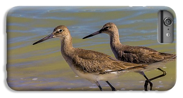 Sandpiper iPhone 6s Plus Case - Walk Together Stay Together by Marvin Spates