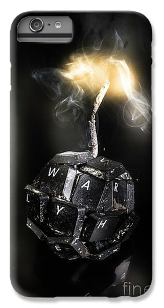 Explosion iPhone 6s Plus Case - War On Information by Jorgo Photography - Wall Art Gallery