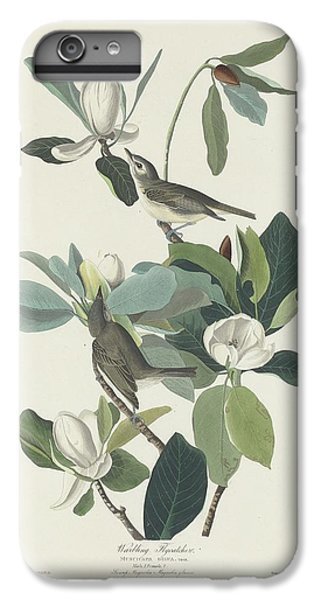 Flycatcher iPhone 6s Plus Case - Warbling Flycatcher by Dreyer Wildlife Print Collections