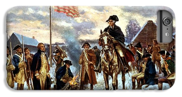 Washington At Valley Forge IPhone 6s Plus Case by War Is Hell Store