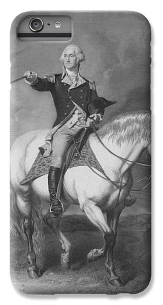 Washington Receiving A Salute At Trenton IPhone 6s Plus Case by War Is Hell Store